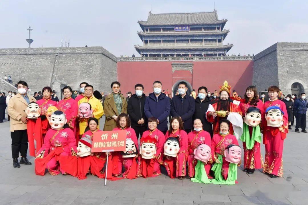 中国年在忻州:忻州古城真红火  第8张