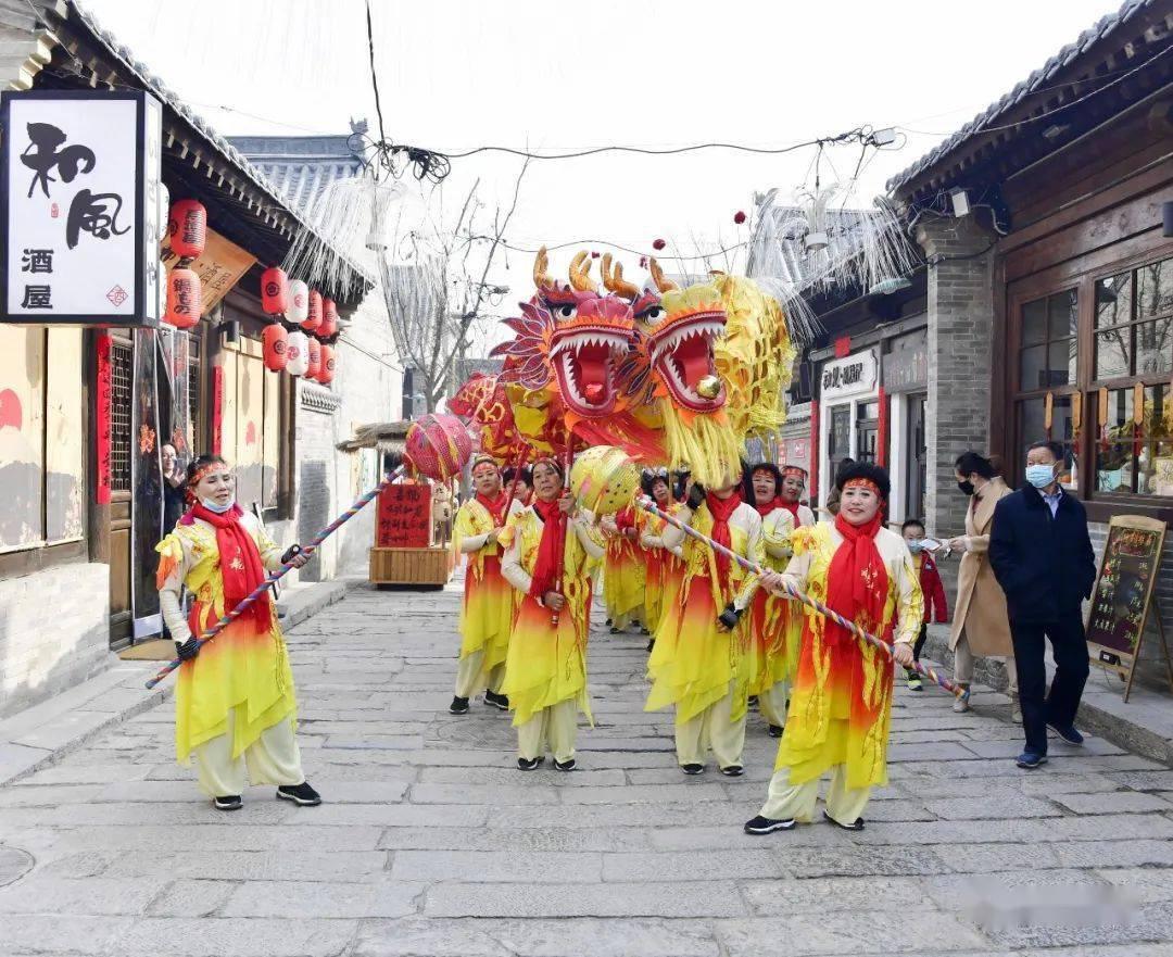 中国年在忻州:忻州古城真红火  第35张