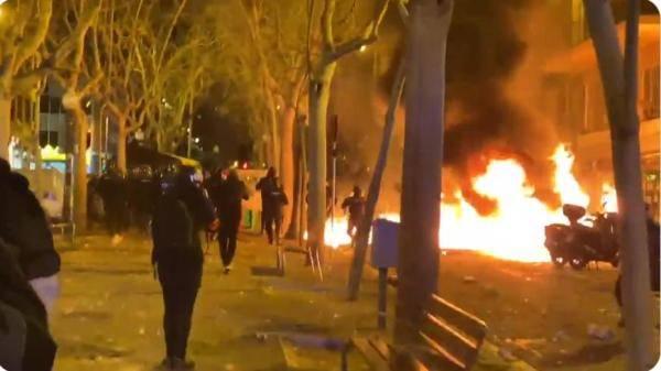 西班牙,突然骚乱!