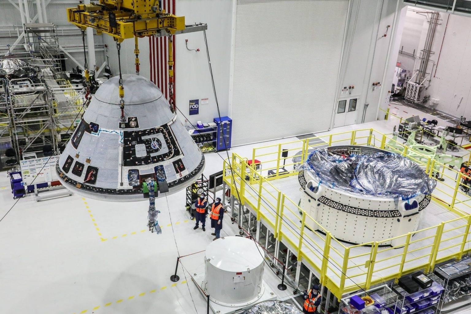 """波音""""星际客机""""第二次不载人试飞至少推迟4月2日发射"""
