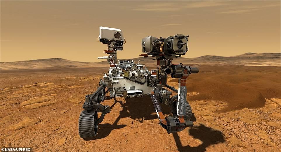 """""""毅力号""""传回首张火星彩色照片,NASA一看就""""都疯了"""""""
