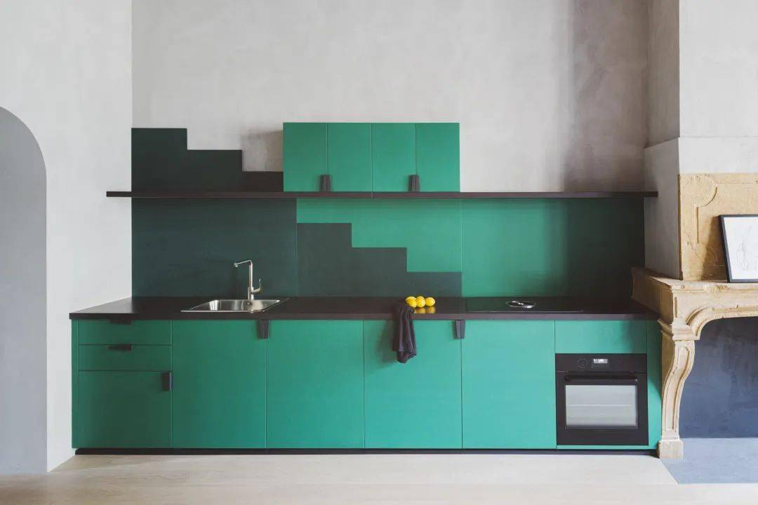 生活中的一点点甜蜜|多彩的厨房设计