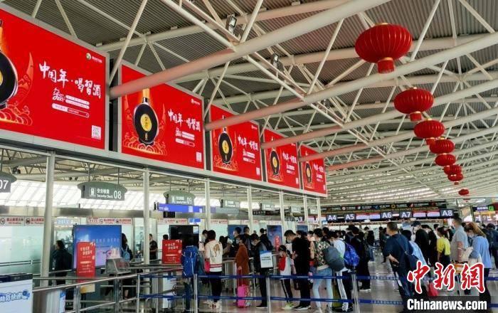 三亚机场迎来节后客流高峰 T2航站楼恢复使用