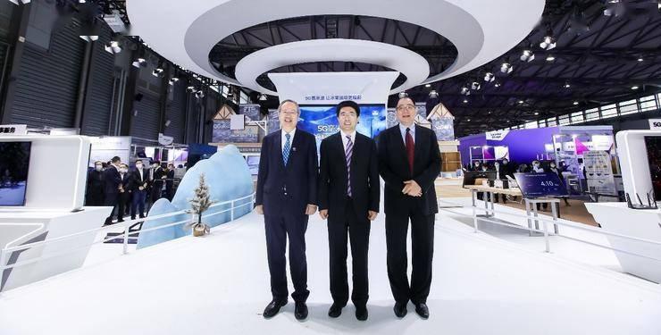 5G毫米波展区闪耀MWC上海,一展生态新图景