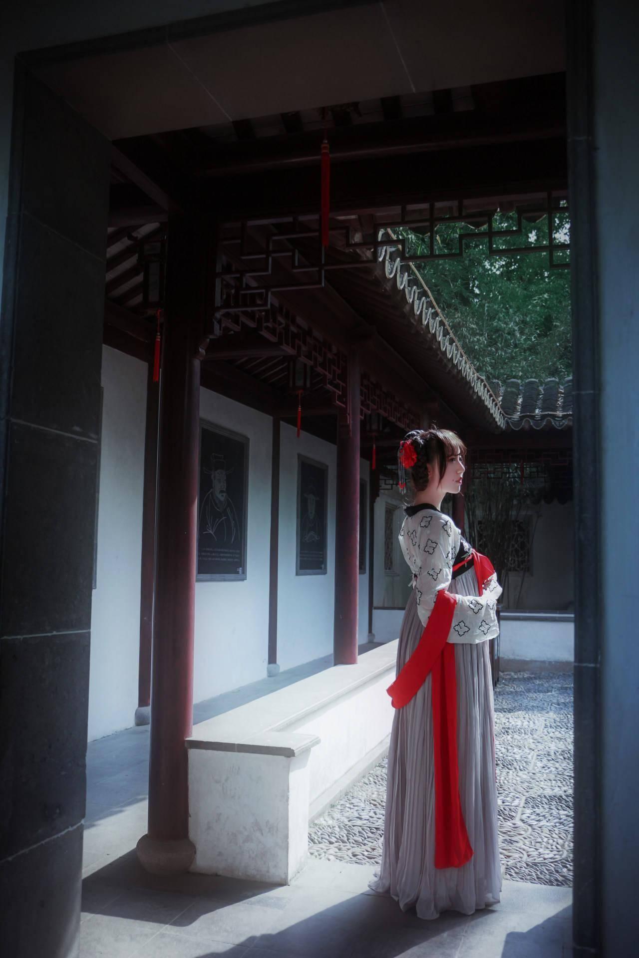 汉服私影 齐胸襦裙