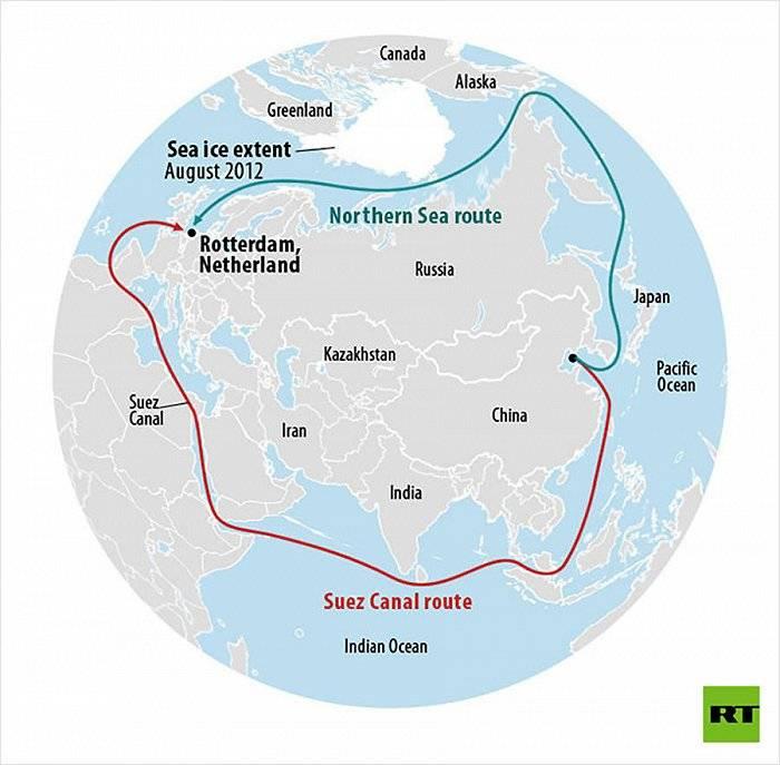 俄油气轮首次2月穿越北极,北海航线展望全年通航却隐含一大危机