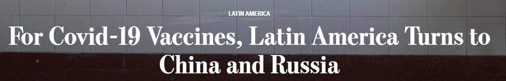巴西前外交官:我们现在完全依赖中国,没得选