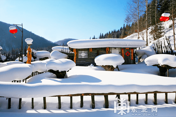 龙江春季款限定冰雪美景,在这里