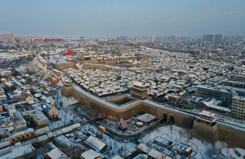 忻州古城——节前问鼎三晋文旅,节后雪至首迎静怡