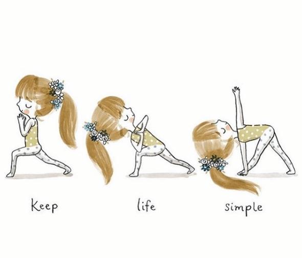 【漫画】瑜伽就是一场修行..._生活