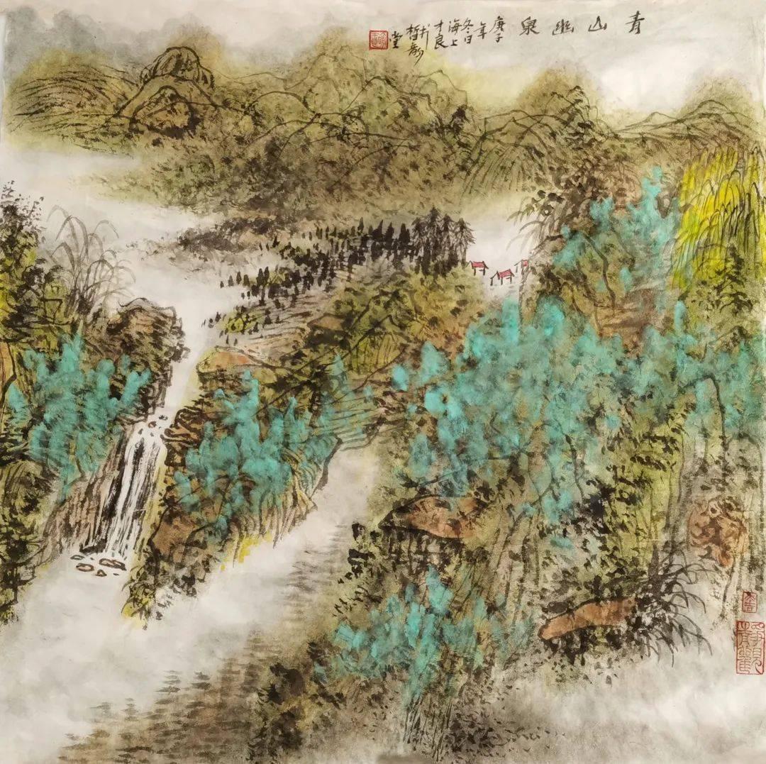 线上展 | 2021年上海书画院新春作品系列展