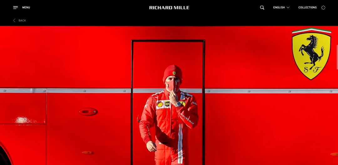瑞士腕表品牌 Richard Mille 成为