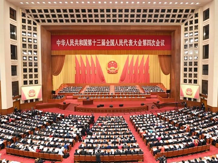 历史交汇点的中国两会