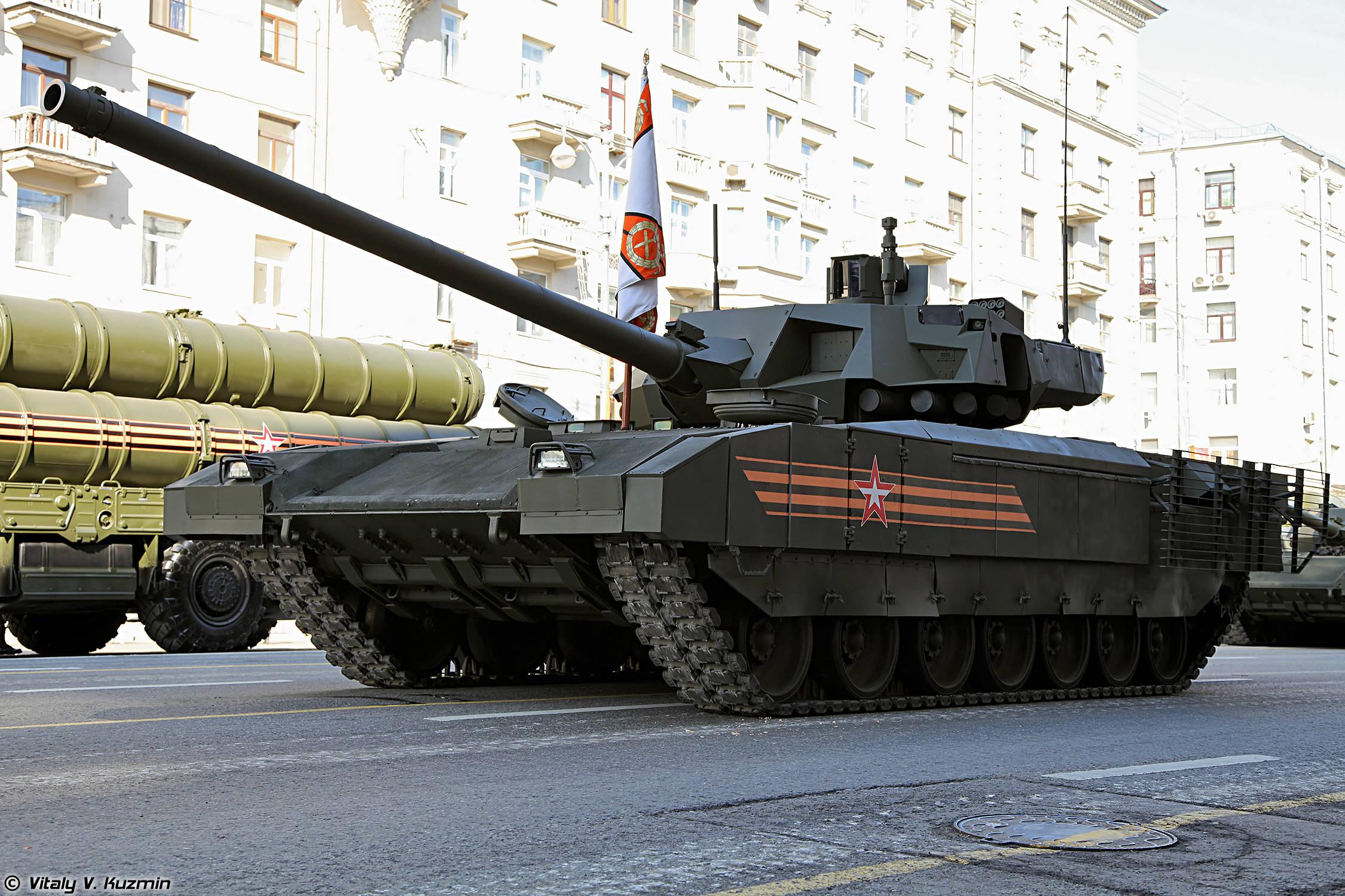 阿玛塔坦克将于2022年装备俄军