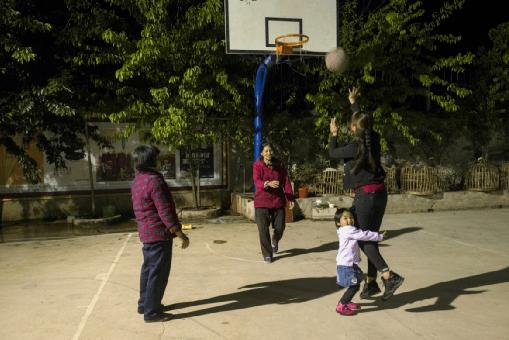 镜头下的乡村体育活动