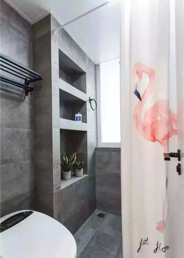 ope体育4平米的卫生间也能做干湿涣散,这12个设计,都