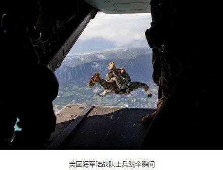 一名美军士兵跳伞后挂到树上,被发现时已经昏迷情况危急