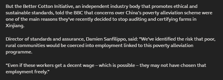 """无耻!BCI负责人竟称新疆扶贫是""""逼迫劳动"""":哪怕拿到合理薪酬"""
