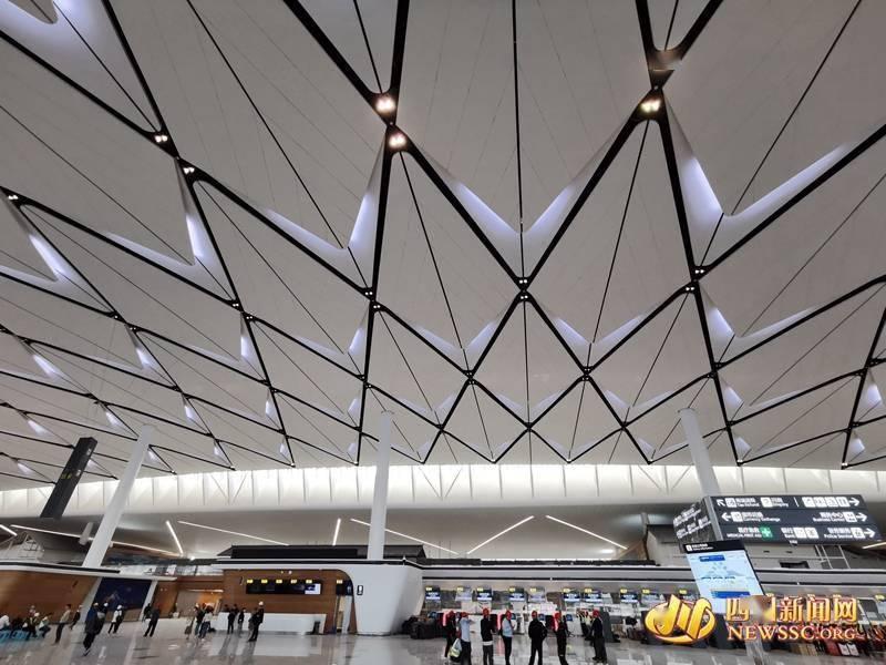 成都天府国际机场:新机场长啥样?川网记者带你探访