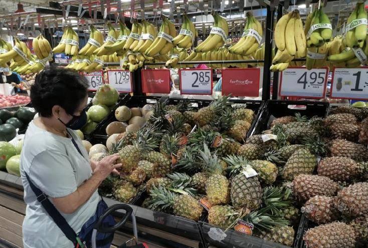 """已展开观测 2021-04-02 15:15 来历: 汹涌新闻 原标题:台湾""""黑心""""凤梨在新加坡超市被下架"""