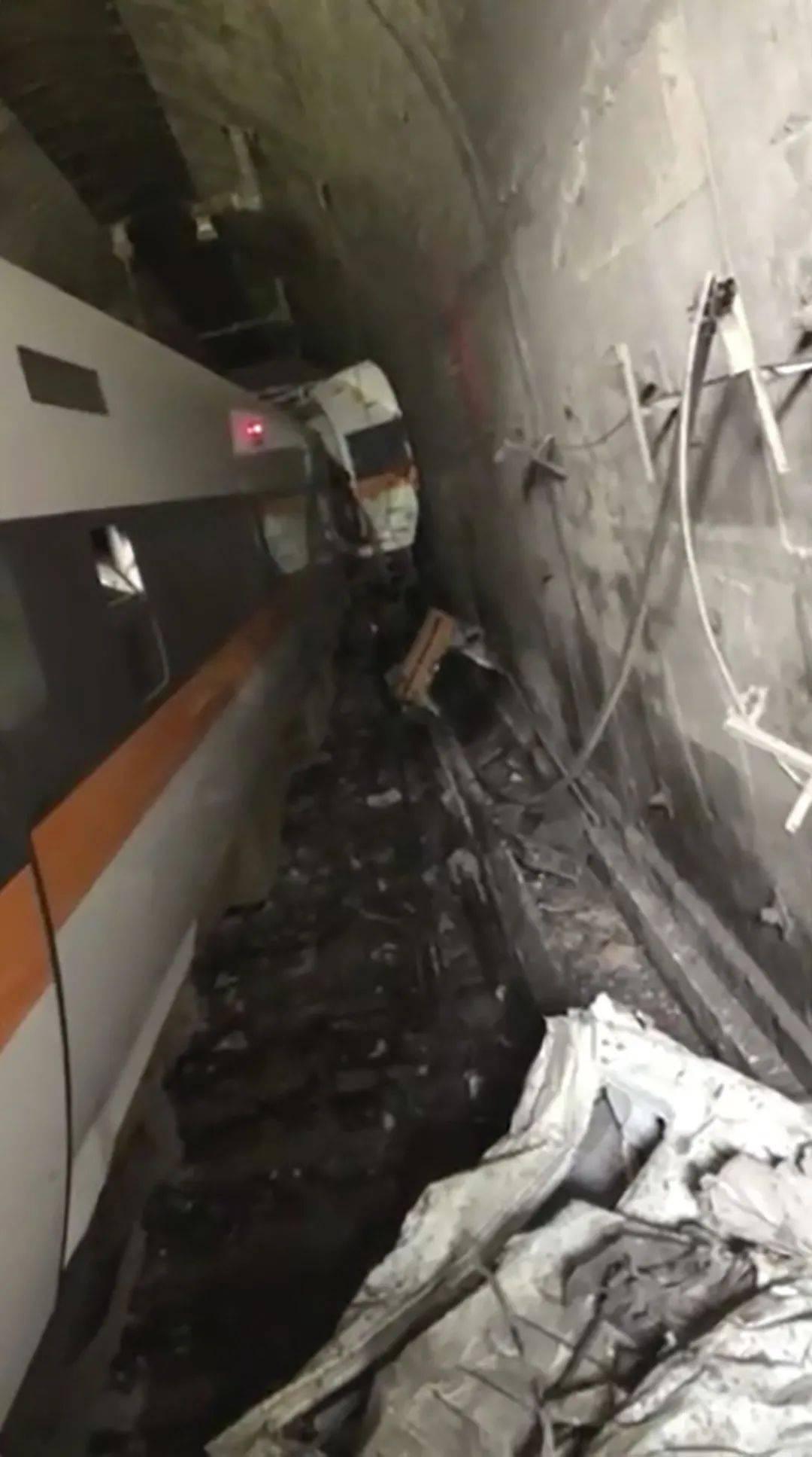 台铁列车事故驾驶视角曝光:突发情况很难紧急刹车