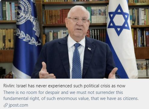 两年四次大选,以色列政局乱成一锅粥