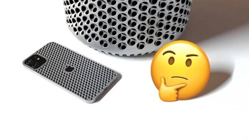 """苹果公开 iPhone 新专利,具备 Mac Pro""""刨丝器""""镂空外壳"""