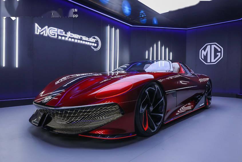 中国首款电动跑车竟然长这样 MG Cyberster设计解析