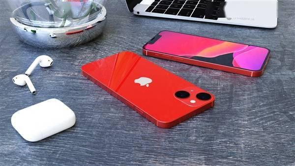 iPhone 13 mini高清渲染图:刘海更下、屏占比更高的照片 - 6