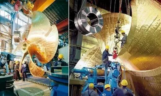 我国造出世界最大船用螺旋桨,4层楼高重480吨(图7)