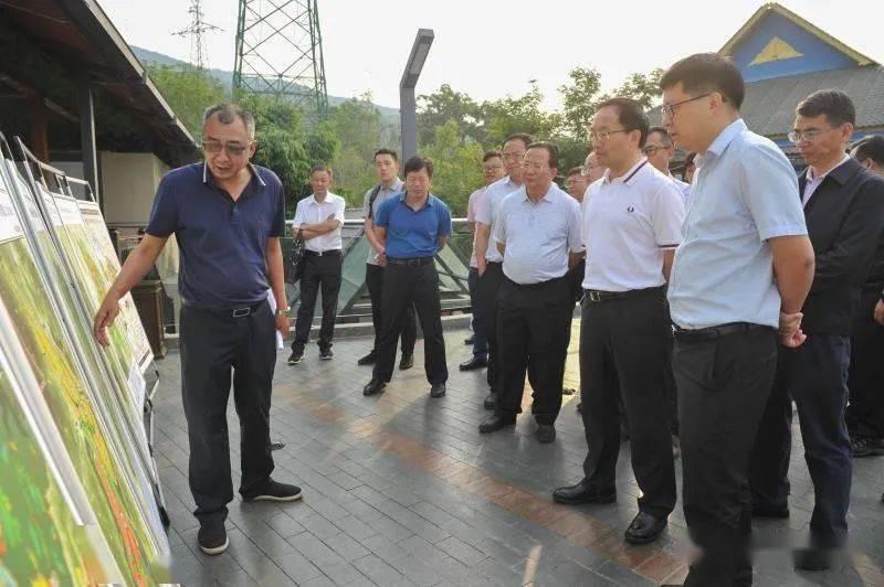 郑艺强调:在城市规划建设中做到显山露水 体现青山绿水