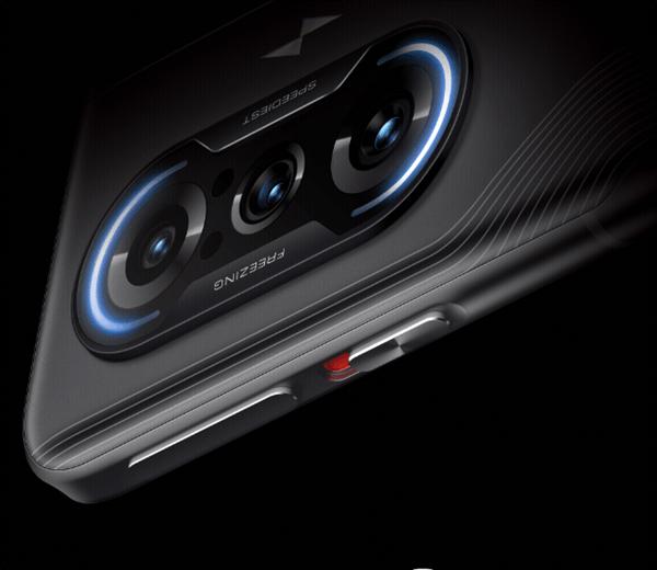 Redmi K40游戏增强版官图曝光:双实体升降肩键+金属中框