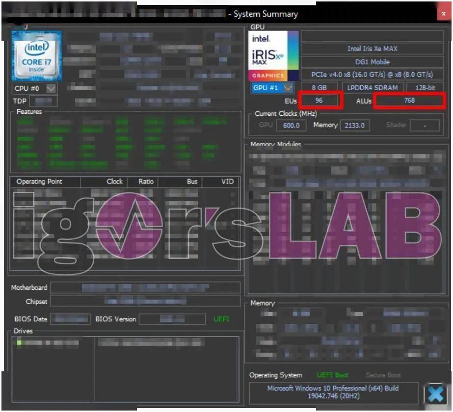 Intel DG1独显跑分来了:成绩让人意外
