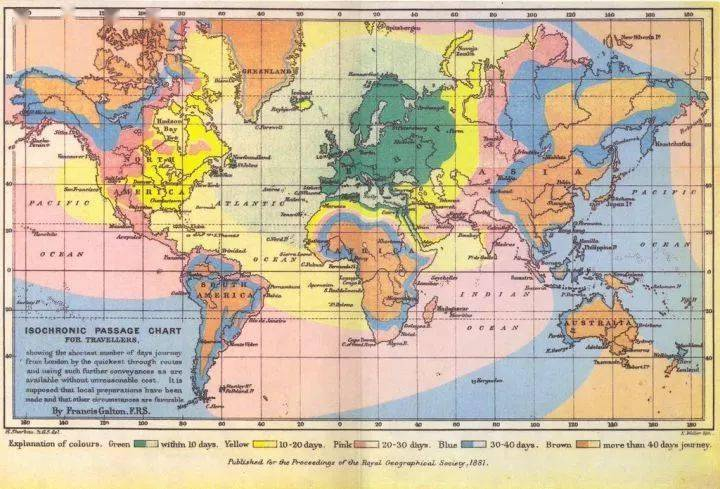 【地理视野】地理老师没有给你讲过这些罕见地图,因为可能会颠覆你的世界观  第19张