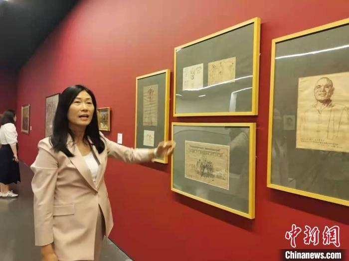 画作、手稿同台展出 回望中华民族百年勇敢与智慧插图(1)