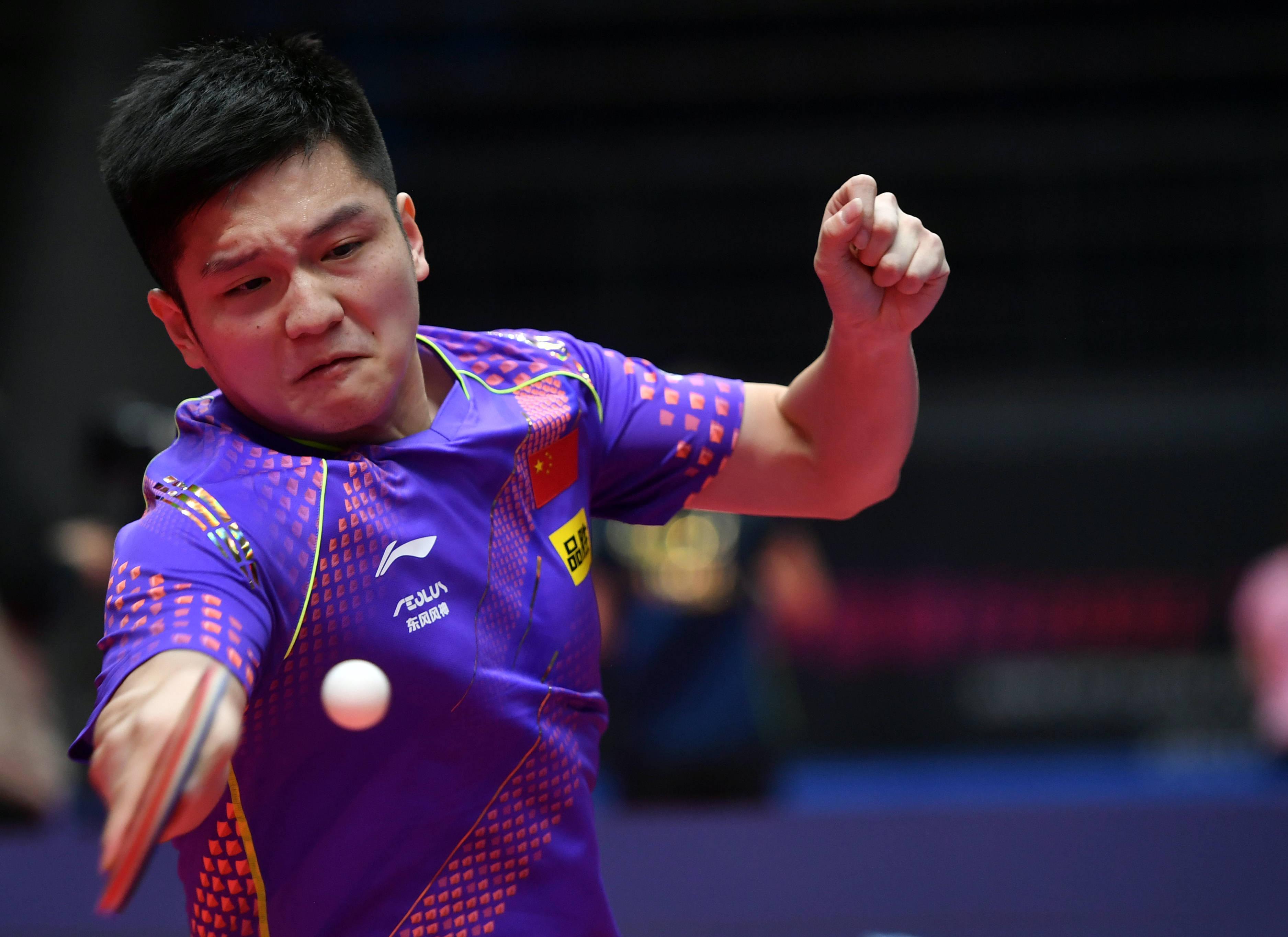"""乒乓球——""""直通WTT大满贯·世乒赛"""":樊振东胜马特"""