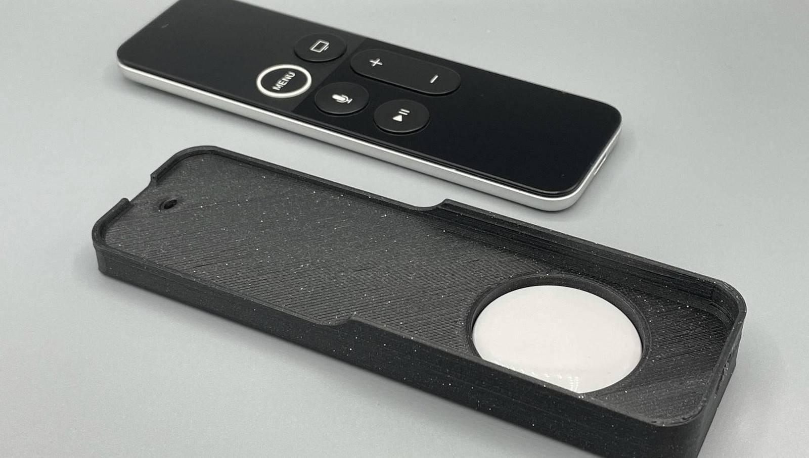 有了这款配件 你的老款Siri遥控器就能和AirTag配合使用