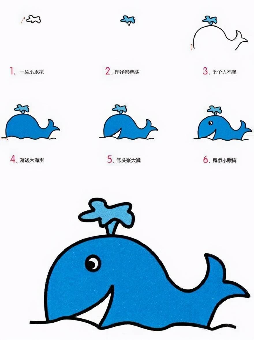 9个好可爱的动物简笔画,妈妈收起来和宝宝一起画