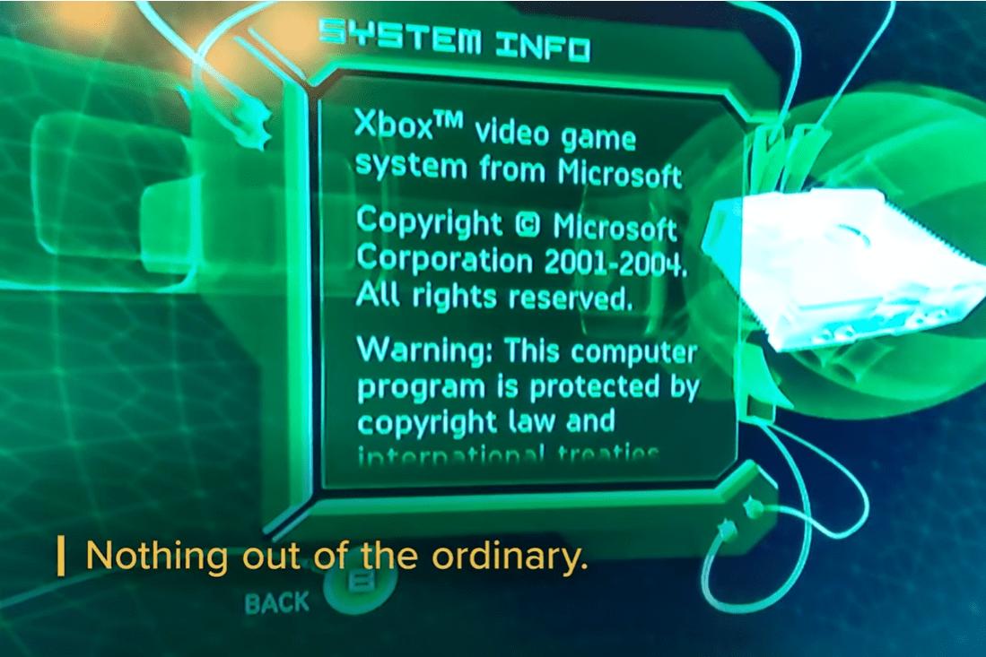 微软 Xbox 初代游戏机彩蛋之一 20 年后被曝光,菜单界面将会变更为开发者姓名列表