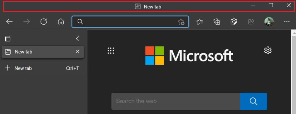 微软 Edge 浏览器 91 隐藏功能可关闭标题栏:开启垂直标签页后即可显示操作