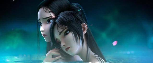 国产动画电影《白蛇2:青蛇劫起》7月23日正式上映 小青被神秘蒙面少年所救