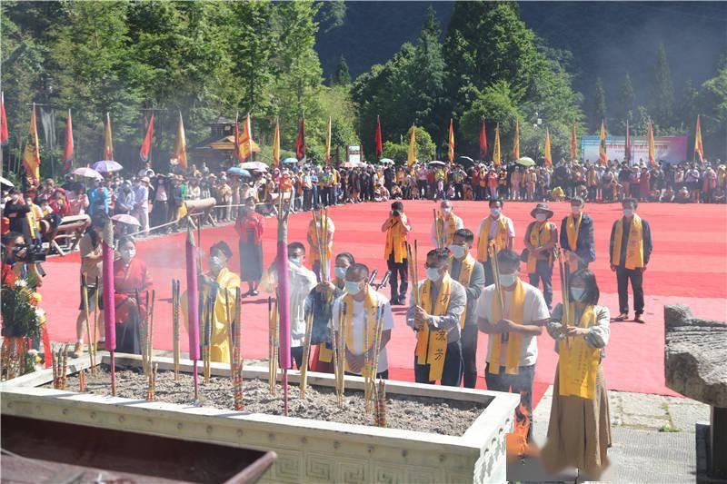 湖北神农架举办辛丑年华夏始祖炎帝祭祀大典