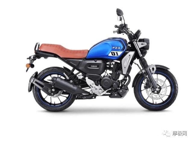 雅马哈跨界复古FZ-X在印度如期发布,售价仅1w出头