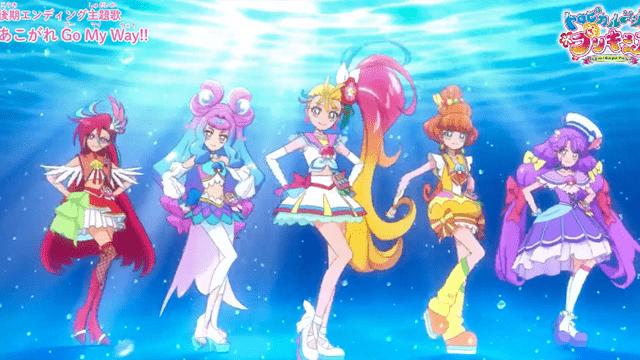 「Tropical-Rouge!光之美少女」后篇ED主题曲动画MV公开插图(1)