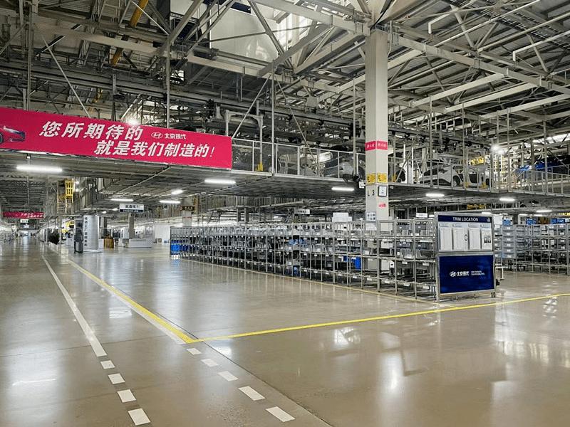 探秘北京现代杨镇工厂解锁全球智能化生产线n5a
