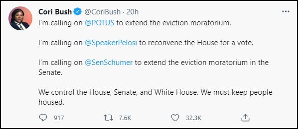 """不顾数百万人无家可归,美国国会准时""""放暑假"""""""