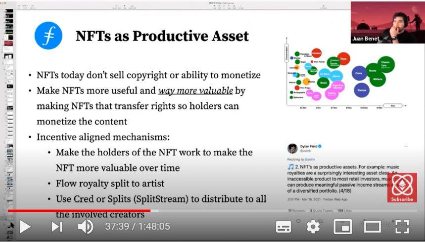 胡安HackFS最新发言: NFT势不可挡或促进人类社会发展金融化  第2张 胡安HackFS最新发言: NFT势不可挡或促进人类社会发展金融化 币圈信息