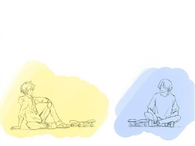"""「无限滑板」监督最新绘制的""""∞の日""""数字pose合集公开插图"""