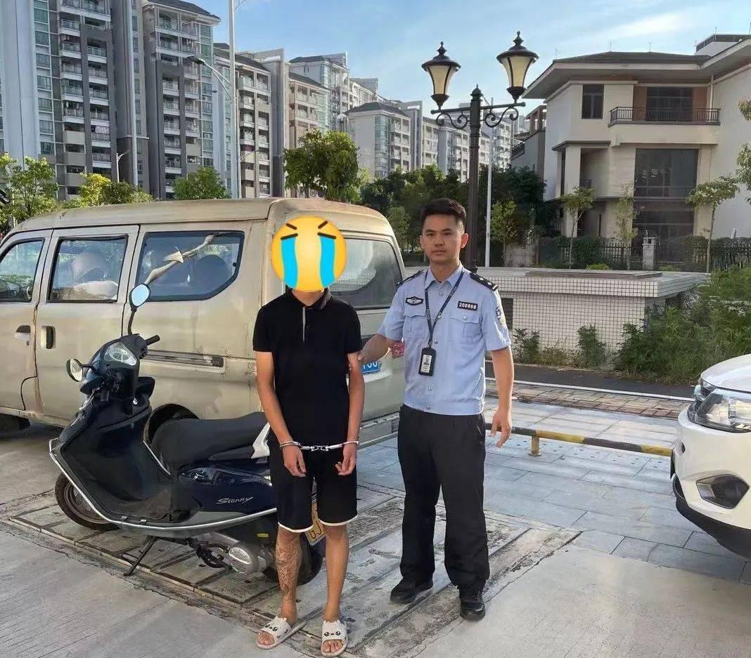 神速!阳江一男子还未发现摩托车被盗,警方已成功追回!