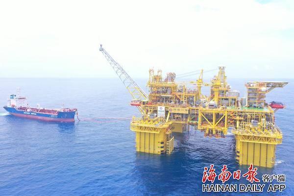 中国首个自营超深水大气田在海南陵水海域全面投产